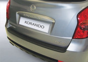 2011 + KORANDO Molded Rear Bumper Paint Guard Protector