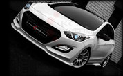 2012+ i30 ADRO Front Bumper Valance Lip Attachment