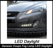 Genesis Coupe Superlux LED DRL Light Set 2pc