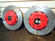 Genesis coupe PA SPORTS Slotted Rotors