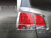 2011+ Sorento Chrome Taillight Covers 4pc