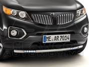 2011+ Sorento Tomato Body Color Euro Grill (Snap-On)