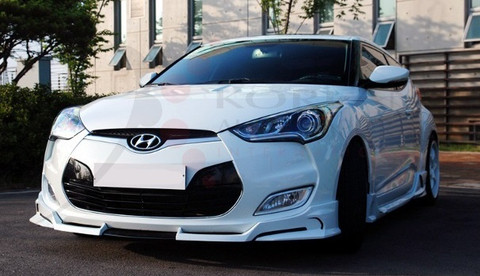 veloster f3style full body kit korean auto imports. Black Bedroom Furniture Sets. Home Design Ideas