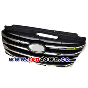 2010-2011 Azera TG Chrome Front Radiator Grill Replacement