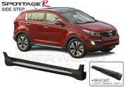 2011+ Sportage R Tomato A&P PREMIUM Running Boards Side Steps