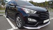 2013-2014 Santa Fe DM Luxgen Front Bumper Lip Valance Diffusor