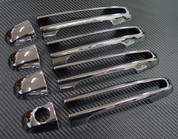 Sonata Chrome Door Handle Covers