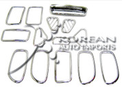 2007 Elantra Interior Chrome Kit