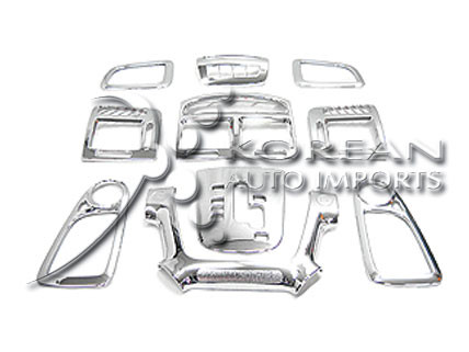 Sale 2007 2008 Spectra Interior Chrome Dash Trim Kit