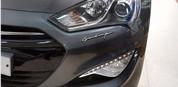 """Genesis Sedan Prada Edition """"GP500"""" Chrome Letter Emblem"""
