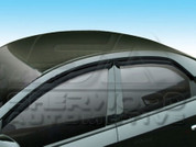 Forte Smoke Window Visors