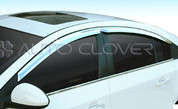 Chevy / Holden Cruze Chrome Window Visors