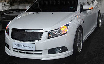 Sale Chevy Holden Cruze Nefd Front Bumper Lip Valance
