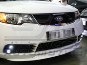 Forte Dual Fog Light Bezel Kit