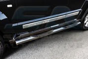 Jeep Liberty / Cherokee KK Chrome Door Guards 6pc