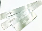 Dodge Nitro Brushed Aluminum Door Sills Set from Vmaxx Germany
