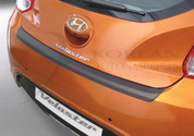 2011 + Veloster MOLDED Rear Bumper Paint Guard Protector