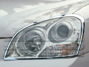 06.5+ Optima Chrome Headlight Trim