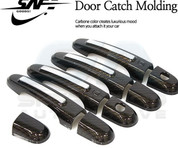 2010+ Sorento R XM Carbon/Chrome Door Handle Covers 8pc
