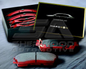 2010+ Tucson IX Hardron Performance Brake Pads 2pc
