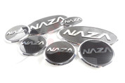 2014+ Forte Koup NAZA Emblem Package Grill / Trunk / Steering / Wheel Caps