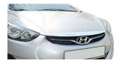 2011-2013 Elantra MD Chrome Hood Garnish Trim