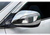 2013-2014 Santa Fe DM/ix45 Chrome Mirror Covers for LED Version