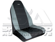 Grey Neoprene Seat Cover