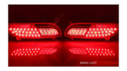 2012+ Rio 5dr Custom LED Bumper Lights Set 2pc