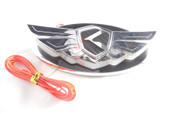 2012+ Rio Pride Hatchback K2 LODEN LED K-WING 2-way Badge Emblem Logo Grill/Trunk Replacement