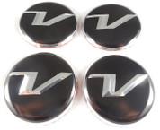 "*SALE* Veloster ""V"" Wheel Cap Emblem Set 4pc"