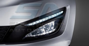 2011+ Optima K5 LED DRL Fog Light Bezel Set 4pc