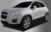 Opel Mokka Smoke Tinted Window Vent Visors Set 4pc