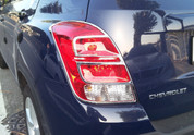 Chevy Trax Chrome Taillight Cover Trim Set 2pc LH/RH