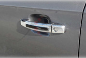 Chevy Trax CHROME/CARBON Door Handle Cover Set 9pc