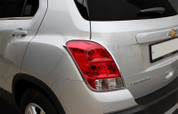 Chevy Trax Chrome Taillight Cover Trim Set 2pc