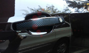 Chevy Trax CARBON Door Handle Cover Decal Set 8pc
