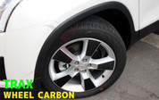 Chevy Trax Carbon Optic Wheel Decal Set 20pc