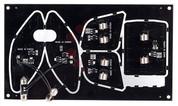 2013-2014 Santa Fe / MaxCruz LED Interior Module Set (NO SUNROOF MODEL) (7 Passenger)