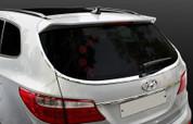 2013-2014 Santa Fe/ MaxCruz Chrome Rear Window Molding Set 4pc (7 Passenger)