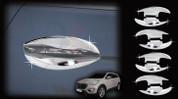 2013-2014 Santa Fe/ MaxCruz Chrome Door Handle Shell Set 8pc (7 Passenger)