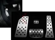 2013-2014 Santa Fe/ MaxCruz Aluminum Sport Pedal Set 4pc (7 Passenger)