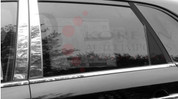 2011 - 2013 Sorento SX Chrome / Stainless Steel Pillar Post Trim 4 pc