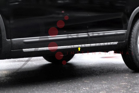 """2010 - 2013 Sorento LX / EX Chrome / Stainless Steel Rocker Panel Trim """"O-Type"""""""