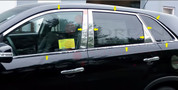 2010 - 2013 Sorento LX / EX Chrome / Stainless Steel Window Trim Package 20 pc
