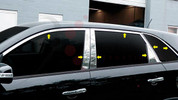 2010 - 2013 Sorento LX / EX Chrome / Stainless Steel Window Sill Trim 14 pc