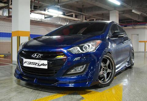 2012 I30 Elantra Gt F3style Body Kit 3pc Korean Auto