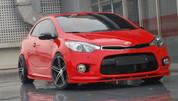 2014+ Forte Koup K3 ZEST Front Bumper Valance Lip