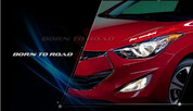 2013+ Elantra Coupe Body Decal Sticker