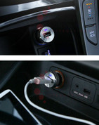 Genuine USB Cigarette Lighter Port Charger